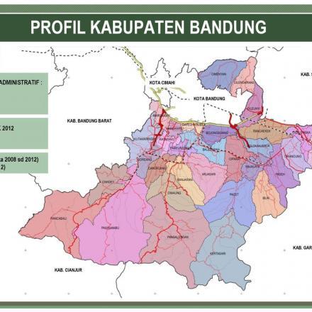 Jumlah dan Nama Desa/Kelurahan di Kabupaten Bandung Menurut Permendagri No. 56 Tahun 2015